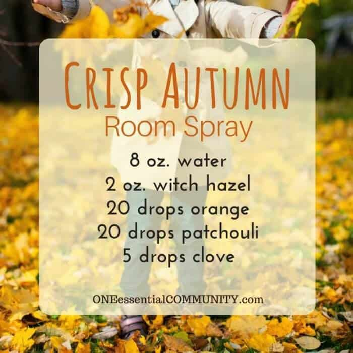 20 Best Fall essential oil Room Sprays (plus a free printable of recipes) -- pumpkin pie, mulled cider, sweater weather, spiced chai, apple pie, flannel, crisp autumn, and more. #essentialoils #essentialoilrecipes #diffuserblends #diffuserrecipes #fallessentialoil