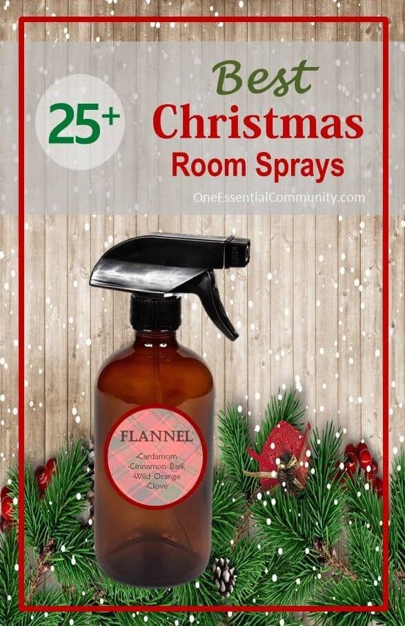 The 25+ BEST Christmas Holiday room spray recipes {made with essential oils}... Holiday Treats, Candy Cane Forest, Peace on Earth, Christmas Cheer, and more. essential oil DIY, essential oil recipes, doTERRA, Young Living, essential oil sprays, Christmas DIY