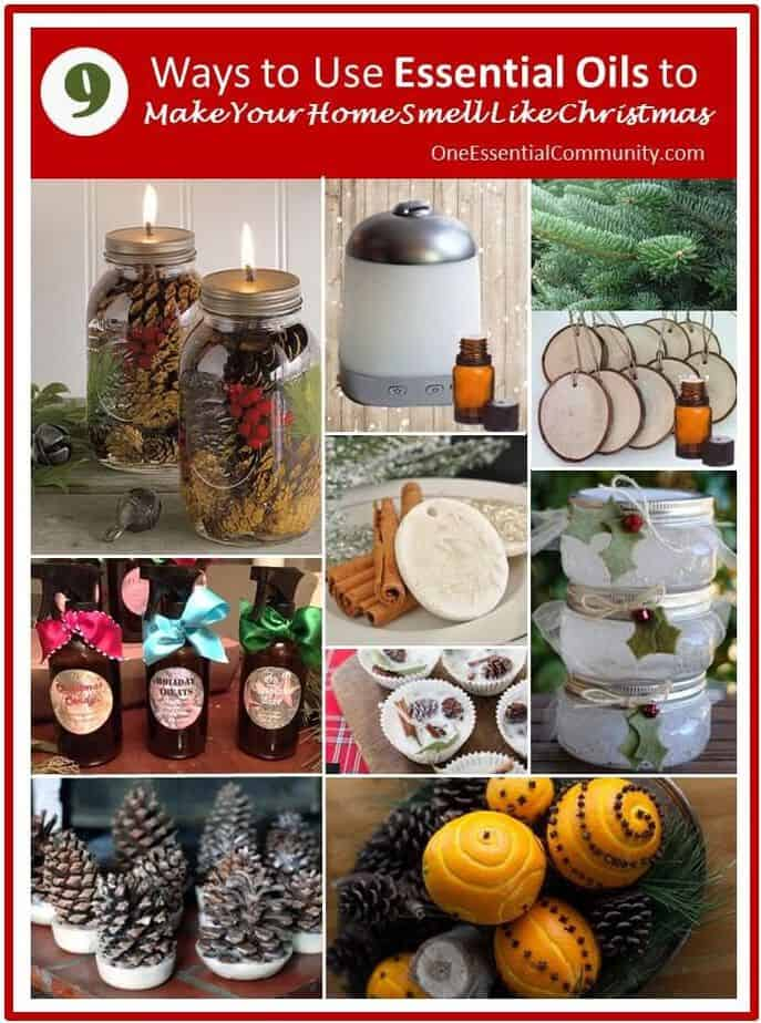 9 ways to use essential oils to make your home smell like christmas christmas diffuser - Christmas Essential Oils