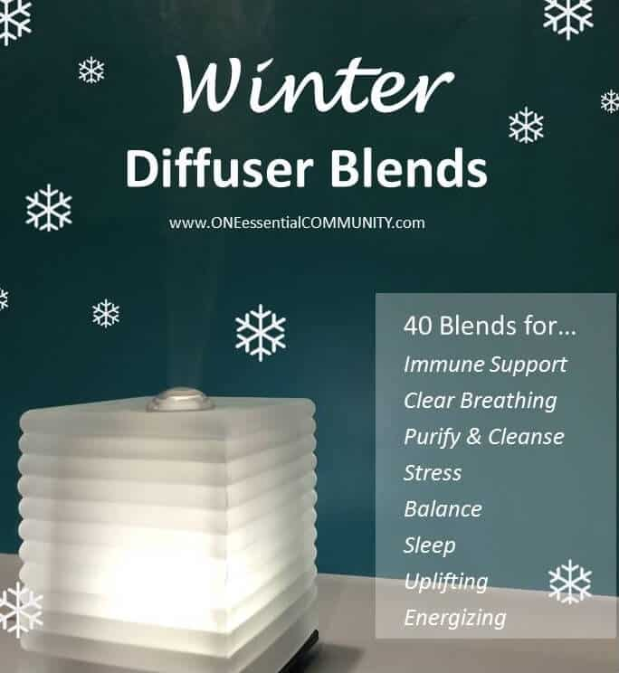 winter diffuser blends title