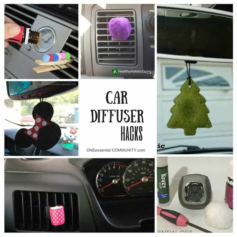 How To Make An Essential Oil Diffuser For Your Car One