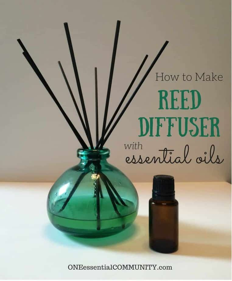 DIY Reed Diffuser {with Recipes for 11 Best Essential Oil