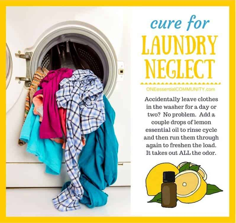 Essential Oil TIP Cure for laundry Neglect