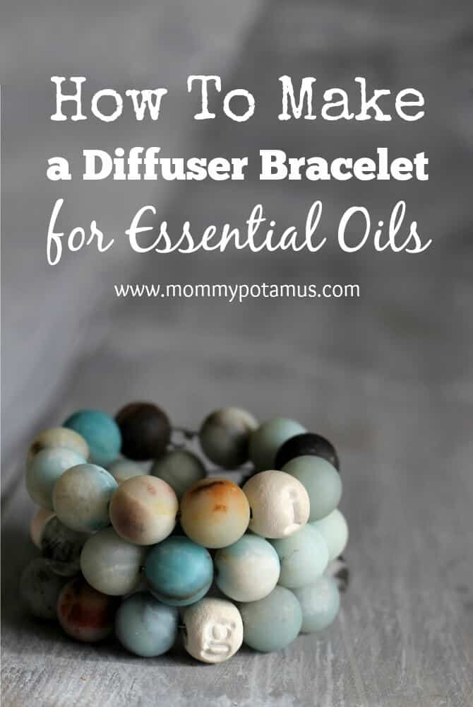 How to make a diffuser bracelet for essential oils