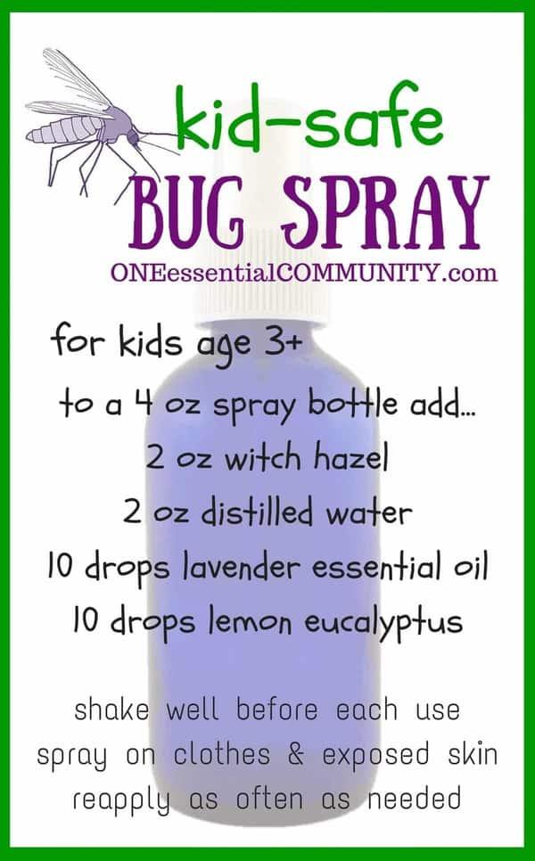 diy bug spray that works kid safe options one essential community