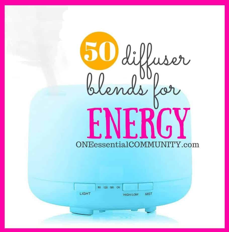 WOW! love this!! 50 essential oil diffuser blends for energy boost -- and there's even a FREE PRINTABLE of all the recipes