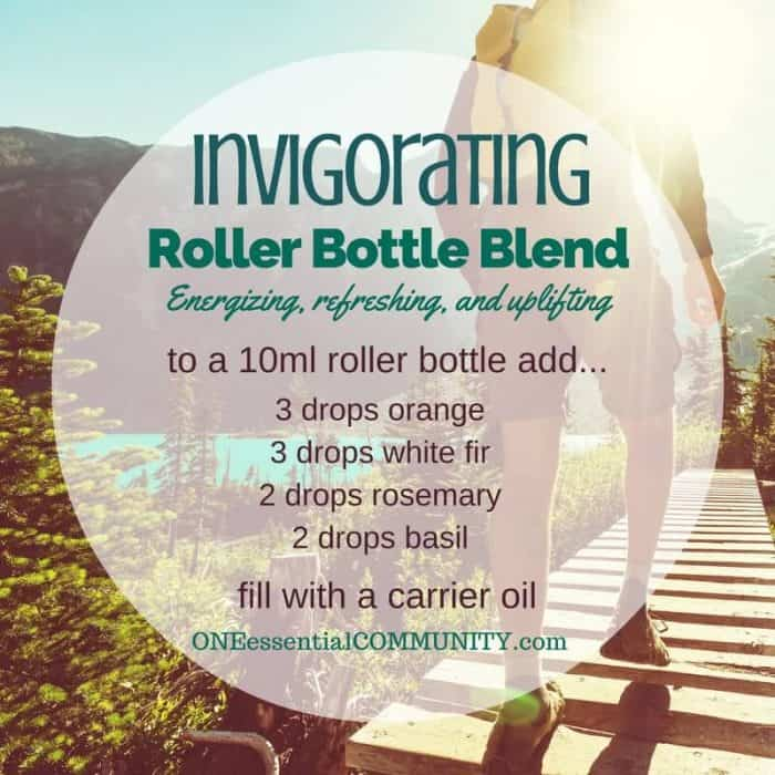 """invigorating"" roller bottle blend energizes, refreshes, and uplifts-- LOVE this!! amazing find! there are tons of great roller bottle blends {and FREE super cute labels} for all kinds of emotions-- calm, focus, grounding, balance, gratitude, happy, energy, comfort, motivation, courage, confidence, cheer, creativity, and more!!"