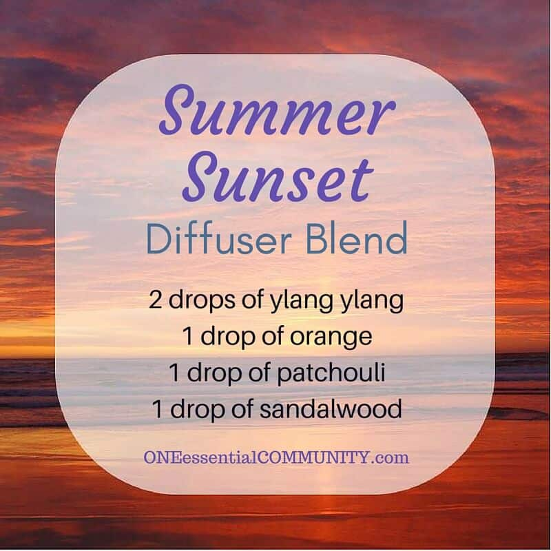 25 Of The Best Summer Essential Oil Diffuser Recipes