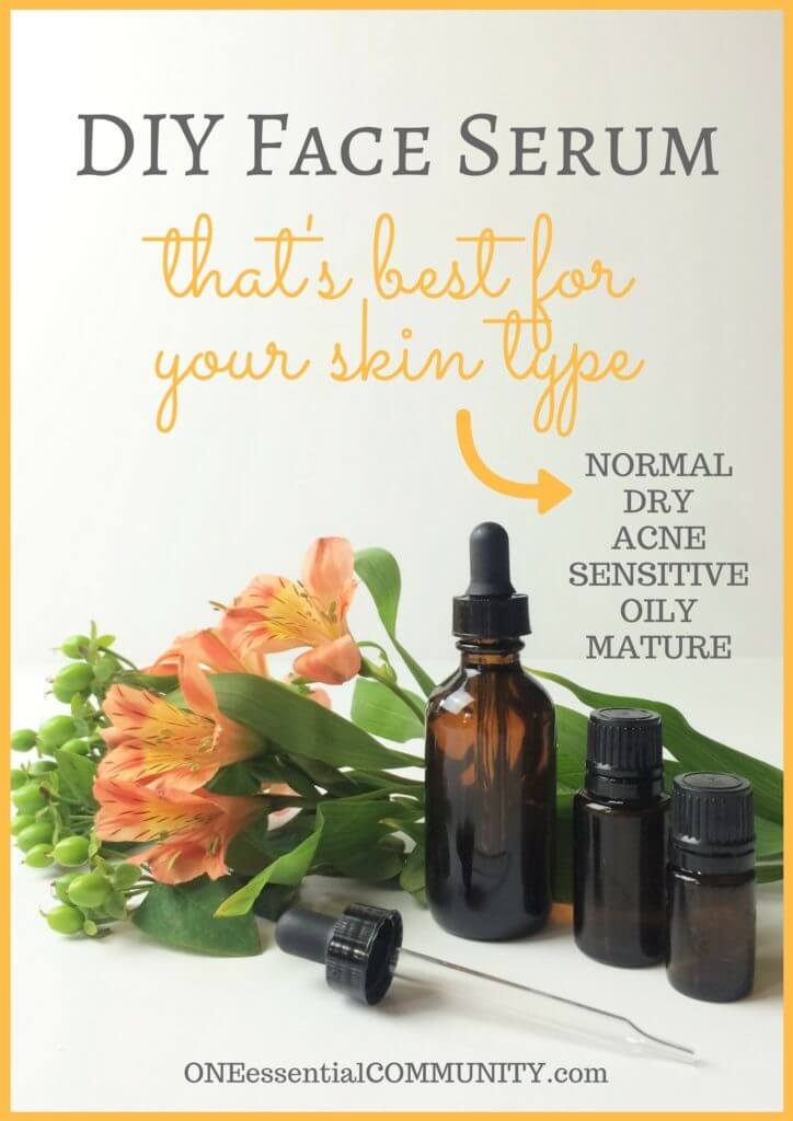 Homemade Facial Serum For Mature Skin