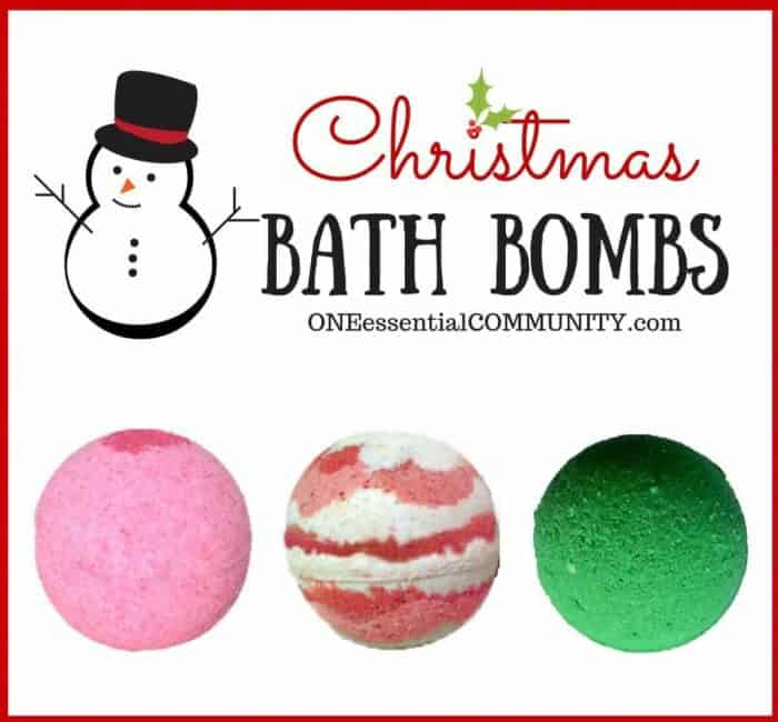 25+ easy homemade essential oil gifts for Christmas- includes bath bombs, soaps, scrubs, perfume, ornaments, mugs, diffuser necklaces, and more! #essentialoils #essentialoilrecipes #homemadegifts #essentialoilgifts #essentialoilChristmas #essentialoilDIY #essentialoilChristmasgifts
