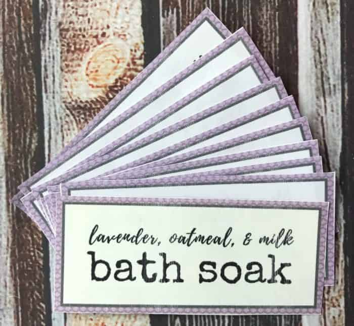 DIY oatmeal milk bath soothes dry, irritated skin plus it has the great calming aroma of lavender essential oil