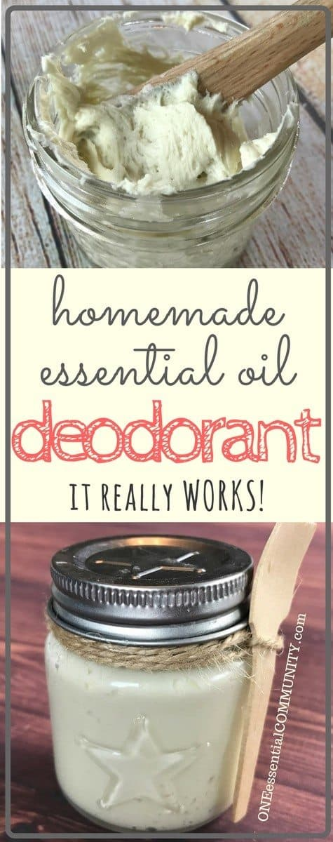 Finally, a homemade natural deodorant that really works! Stops the stink and keeps you smelling fresh. Summer tested and husband approved. {DIY essential oil deodorant recipe}