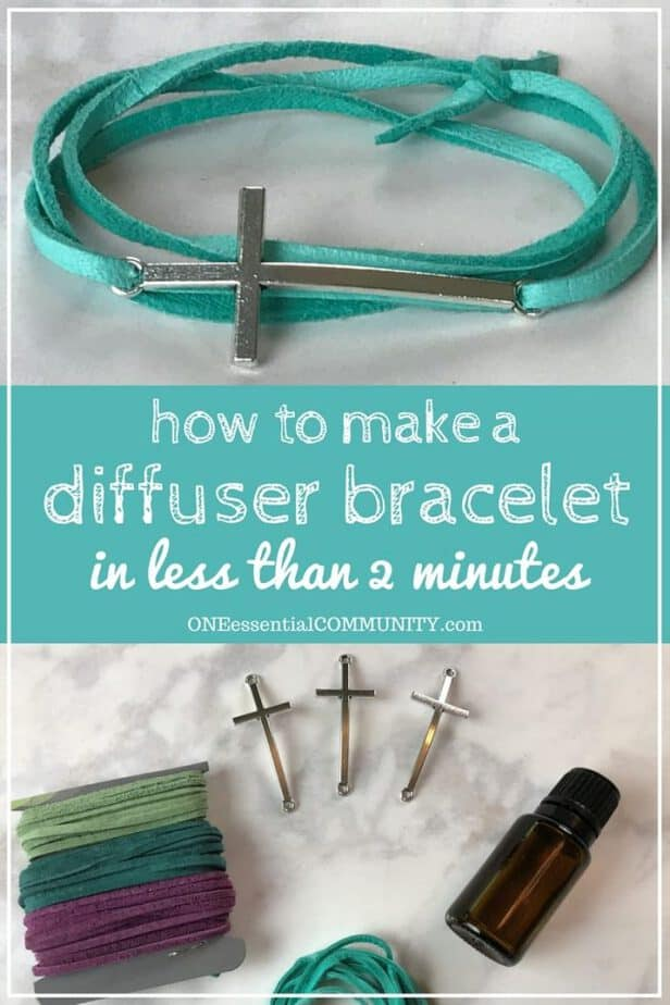 Essential Oils Diffuser For Less ~ How to make a diffuser bracelet in less than minutes