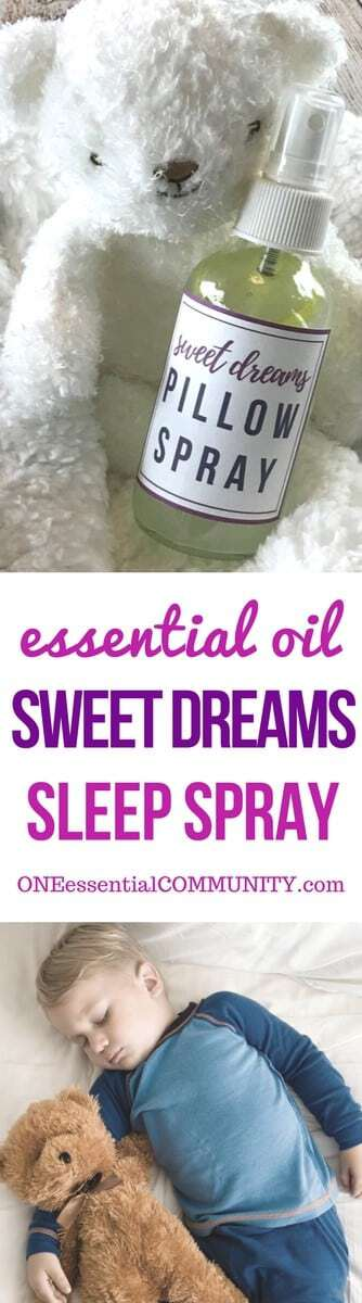 best essential oils for sleep + 12 favorite essential oil sleep spray recipes -- helps fall asleep & stay asleep.  essential oil DIY, essential oil recipe, doTERRA, Young Living, pillow spray