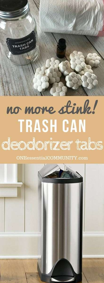 Freshen And Eliminate Trash Can Odors Naturally With These Easy To Make Homemade Essential