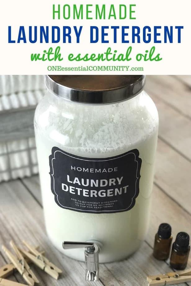 Homemade He Liquid Laundry Detergent Recipe With