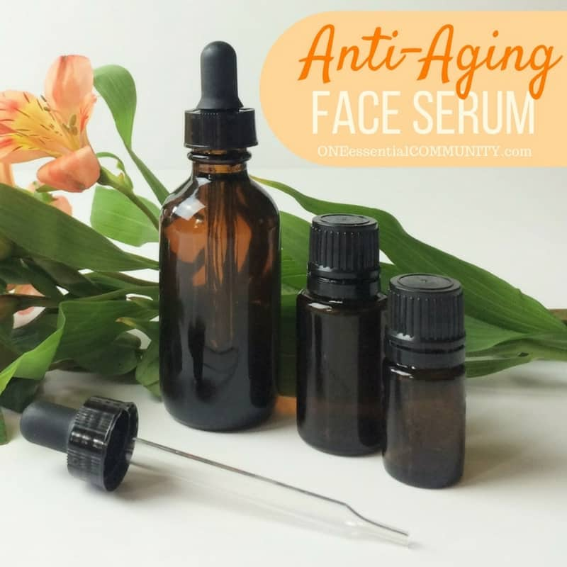 Face Serum Recipes for dry, acne, sensitive, oily, mature, and normal skin