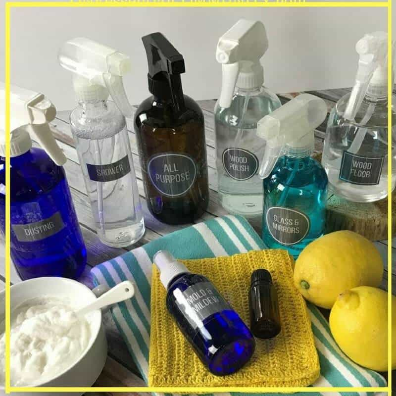 8 Diy Recipes For Cleaning With Lemon Essential Oil Plus