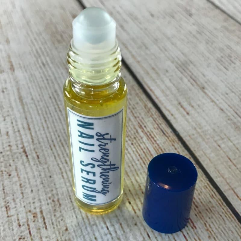 Strengthening essential oil nail serum for weak dry brittle fingernails one essential community - Easy home remedy strengthen dry brittle nails ...