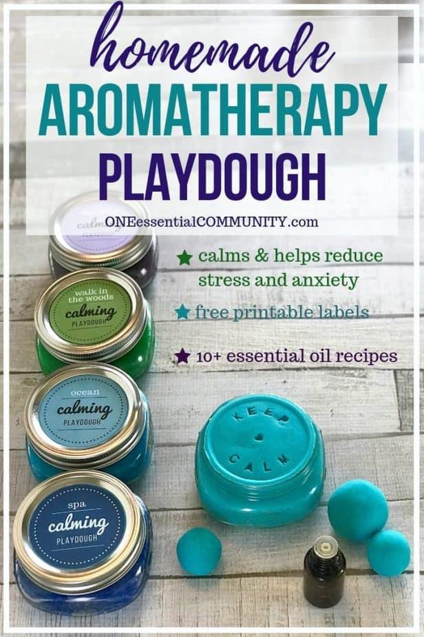 Calming Aromatherapy Playdough To Reduce Stress Amp Anxiety