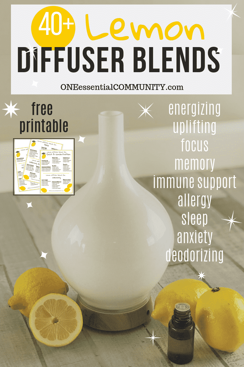 Essential Oil Diffuser Recipes Archives One Essential
